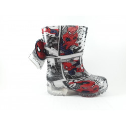 BOTAS AGUA LUCES SPIDERMAN